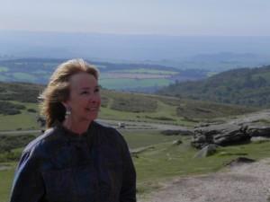 Me at Haytor Rocks, Dartmoor