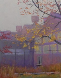 Fog Study, Johnstown, #1, 14 x 11 , UART 400