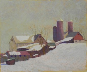 Amish Farm, 20 x 24, BFK Rives