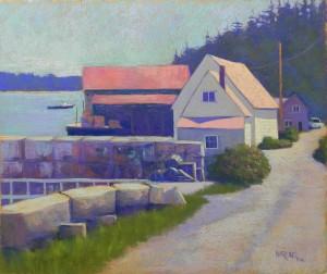 Stonington Harbor, 20 x 24