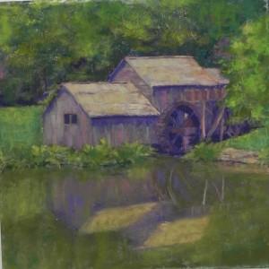Sunny Alsup's painting on Wallis