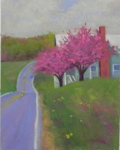 Kwanzan Cherries, Clarksburg, 14 x 11 UART 400