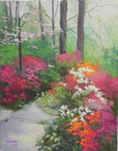 Spring Azaleas, 14 x 11 UART 400