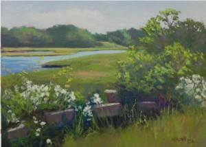 June Roses, Sepowet Marsh  12 x 16, UART