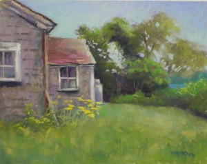 Summer Cottage, 12 x 16, UART