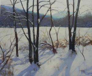 Winter Light, 20 x 24, UART 400