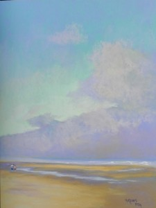 "Lifting Fog Bank, 24"" x 18"", Wallis Museum Grade"