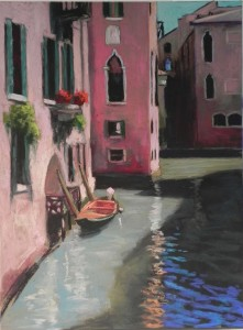 Canal Boat (Venice) sm
