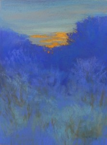 Frosted Morning Sunrise, Pastel Premiere, 380 Italian Clay,16 x 12