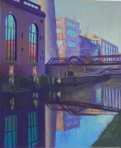 C&O Canal, Georgetown #2, 24 x 20, UART 400