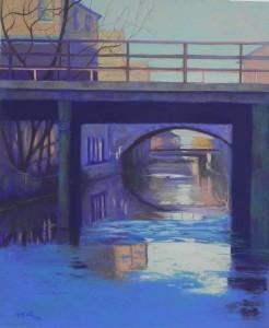 C&O Canal, Georgetown #3, 24 x 20, UART 400