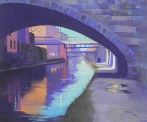 C&O Canal, Gerogetown, #1, 20 x 24, UART 400