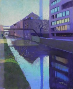 C & O Canal, Georgetown, #6, 24 x 20, Pastel Premiere 400