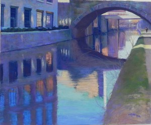 C & O Canal Georgetown, #5, 20 x 24, Pastel Premiere 400