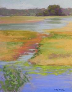 Chincoteague Marsh, 14 x 11, UART 400