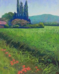 Valley of the Dordogne, 20 x 16, UART 400