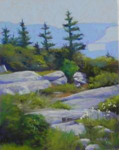 Acadia View, 14 x 11, UART 400
