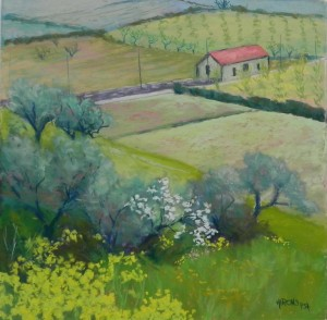 Spring Fields, Douro, 16 x 16,  UART 400