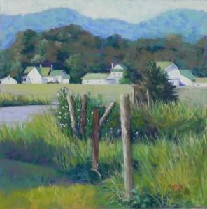 Blue Ridge Village, 16 x 16, UART 400