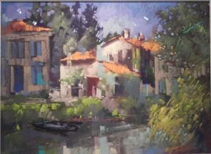 Paysage du Tarn, Joel Achard