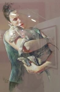 La petite reveuse, by Helene Gaben-Laurie