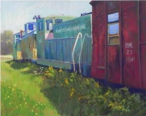 "Belfast & Moosehead Lake Railway, 16"" x 20"", UART 400"