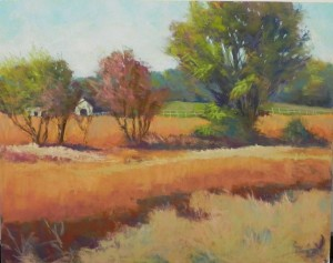 Autumn Fields, as initially painted