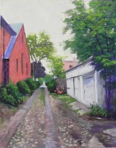 Cobblestone Alley, 20 x 16, UART 400