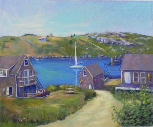 Happy Day, Monhegan Island, 20 x 24, UART 320